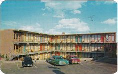 Old Toronto motels: Andrews Motel on Kingston Road (demolished Hotel Ads, Toronto Ontario Canada, Toronto Photographers, Stunning View, Kingston, Fun To Be One, Nice View, Street View, History