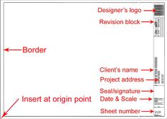 Creating a great CAD title block-the basics - Best CAD Tips