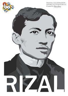 Jose Rizal filipino national hero Philippine Mythology, Jose Rizal, Banner Design Inspiration, Environmental Art, Filipino, Digital Illustration, Philippines, Digital Art, Money