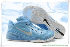 new style 07367 0048c 706505-061 Bright Blue  Silver White Nike Hyperdunk 2014 Low For Sale New  Jordans
