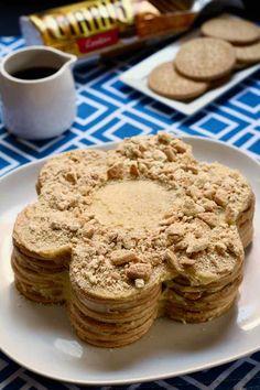 Portuguese Bolo de Bolacha (aka coffee and biscuits and cream cake)