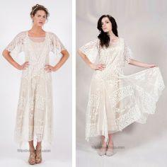 40120 Nataya Tulle Lace Sapphire/Beige Dress