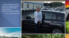 Dear Laurie Alcan   A heartfelt thank you for the purchase of your new Subaru from all of us at Premier Subaru.   We're proud to have you as part of the Subaru Family.