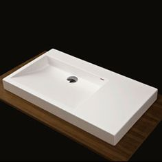 Lacava 5101 Luce Solid Surface Vanity Top With An Overflow BathroomSink Sink BlondyBathHome