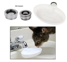 Sink Drink™ Cat Dish at The Animal Rescue Site
