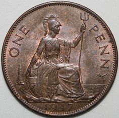 Placemat Ideas, English Coins, Coin Values, Coins For Sale, George Vi, Old Paper, African History, Pennies, Queen Victoria