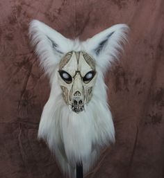 Zombie Fursuit fur suit head realistic mask, gothic horror articulated jaw,realistic eyes furry furries costume VOODOO DELICIOUS by VoodooDelicious on Etsy