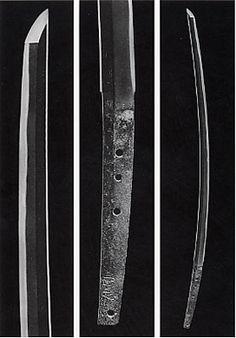 Tachi blade by Tegai Kanenaga National Treasure Kamakura period, century Seikado Art Museum