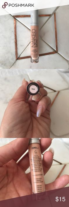 """NAKED skin concealer Concealer/color corrector by NAKED skin Urban Decay in """"Peach"""".  I have fair skin and could t return once purchased.  Never used.  Only swatched. Urban Decay Makeup Concealer"""