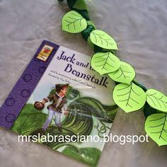 Jack and the Beanstalk crafts and activities.  Packed full of fairy tales!