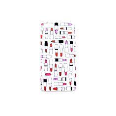 "iPhone 5 hoesje ""Lipsticks"""