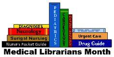 medical book clip art with national medical librarians month titles - Sample Medical Librarian Resume