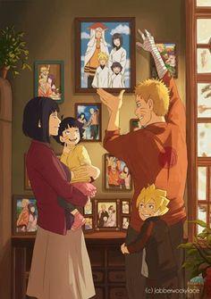 Family Uzumaki - (Hinata,Himawari,Naruto and Boruto) Naruto Shippuden Sasuke, Wallpaper Naruto Shippuden, Kakashi, Hinata Hyuga, Sasuke Sakura, Minato Kushina, Gaara, Wallpapers Naruto, Animes Wallpapers