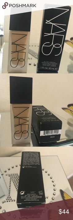 Nars All Day Luminous Weightless Foundation Nars All Day Luminous Weightless Foundation  Color  Medium 3 Stromboli   Used like 3 maybe 4 pumps   Way to dark even mixing   Purchased from Sephora retail $49.99 plus tax  Fast shipping  Ship same day or next day depending on time of purchase Makeup Foundation