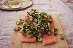 Ginger & Coriander Marinated Salmon