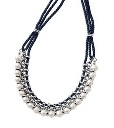 Perla del Mar Necklace. So nautical and classy! https://sites.liasophia.com/sites/glitznglamwithsam/hc-login
