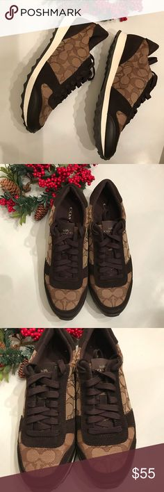 NEW WITHOUT BOX COACH SNEAKERS 👟 Brand new without box Coach Shoes Sneakers