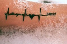 heartbeat tattoo - Google Search                              …