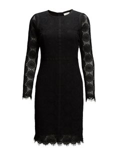 DAY - Day Veneer-Concealed back zip closure Lace overlay Shaping darts Fitted waist Sophisticated Darts, Lace Overlay, Day Dresses, Closure, Zip, Fitness, Shopping, Clothes, Fashion