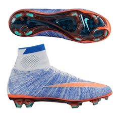 buy online d5d85 2046e Nike Women s Mercurial SuperFly IV FG Soccer Cleats (Blue Tint)