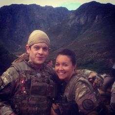 Our Girl BBC Lacey Turner and Iwan Rheon