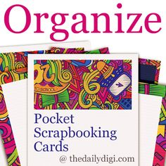 DailyDigi - Organize your Pocket Scrapping and Project Life Cards