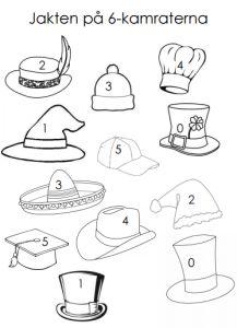 """Innehåll i lådan: 5 inplastade spelplaner till spelet """"5-vägen"""" 10 inplastade spelplaner till """"9-bingo"""" 4 olika aktivitetsblad inplastade att kopiera till eleverna (""""5-kampen"""", """"J…"""