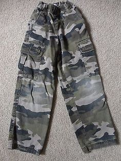 2⃣▪5⃣0⃣  @SalesForToday. also check out www.stores.ebay.com/jenscreationstx..   The Childrens Place  Camouflage Pants - Size 7 Adjustable Waist - Army Green