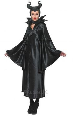 How To Make A Maleficent Costume At Home. Maleficent is the evil character in the Sleeping Beauty fairy tale which has already been made into various films. And so it is a great idea to. Maleficent Fancy Dress, Maleficent Halloween Costume, Disney Villain Costumes, Disney Fancy Dress, Maleficent Movie, Halloween Costumes For Sale, Movie Character Costumes, Halloween Fancy Dress, Sleeping Beauty