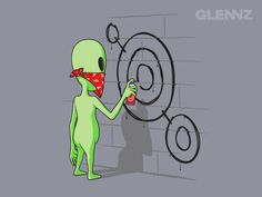 As Criativas e Bem Humoradas Ilustrações de Glenn Jones | Criatives | Blog Design, Inspirações, Tutoriais, Web Design