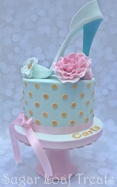 High Heel Shoe Cake by SugarLoafTreats