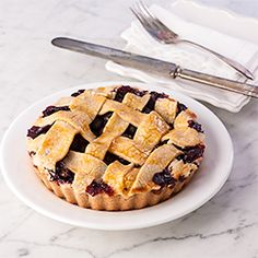 Two Berry Tart, Gluten Free