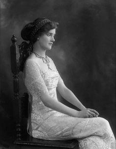Lady Cynthia Asquith (1881-1960) - English Writer. Circa 1912. Photo by Bassano.