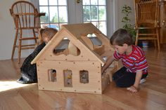 Mothering Natural Toy Guide Top Pick of 2013  our award winning Maine Dollhouse offers amazing play value, and allows for group play