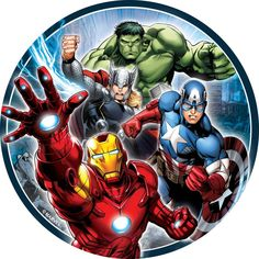 Avengers cake stickers, Avengers cake toppers, Avengers edible images on sale now! Lowest prices!