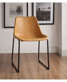 Valgus Side Chair (Set of in Vintage Camel & Black - Acme Furniture 96803 Eames Chairs, Upholstered Dining Chairs, Dining Chair Set, Dining Room Chairs, Side Chairs, Armless Chair, Chair Upholstery, Bar Chairs, Chair Cushions
