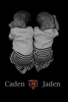 My twin boys