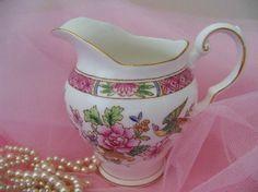 Vintage  JUG  TUSCAN  bone china  4high  by YorkshireTeaCupShop, $18.00