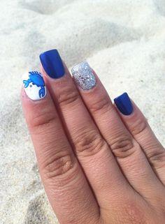 maryland blue crab nail design