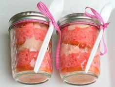 MOPS 2012...final craft send-off...cake in a jar!