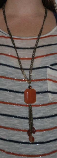 Bronze Rust Chain Necklace  $15.00