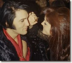 Elvis and Priscilla New Years Eve 1970. Priscilla loved and understood Elvis more than anyone.