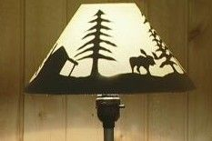 How to make a silhouette lampshade must try this