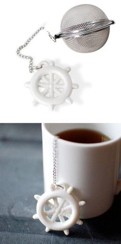 shipwrecked tea infuser