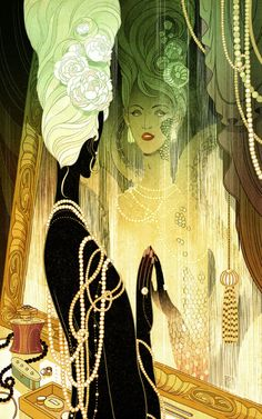 """Serving Fish Victo Ngai Latest art for a short novel """"Serving Fish"""" by Christopher Caldwell, published in the current issue of People of Color Take Over Fantastic Stories of the Imagination (FSI). Be sure to check out this fascinating story packed..."""