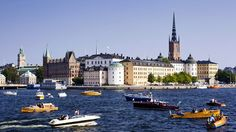 "A ""Nobel"" View of Riddarholmen Island, Stockhold, Sweden"