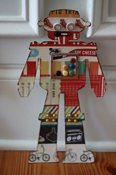 Robot-- I have these templates! They were from Michaels...maybe now i will do something with them! New Robot Party Ideas