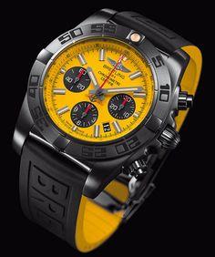 La Cote des Montres : La montre Breitling Chronomat 44 Blacksteel Special Edition - Un chronographe d'exception