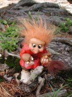 Aslak der Naturdoktor 15cm Troll, Teddy Bear, Animals, Figurine, Animales, Animaux, Teddybear, Animal, Animais