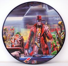 Iron Maiden - Somewhere In Time (2013 Reissue) Picture Disc Vinyl ...